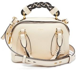 Chloé Daria Small Leather Shoulder Bag - Cream