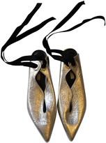 YUUL YIE Silver Leather Heels