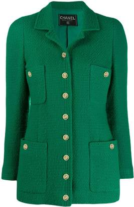 Chanel Pre-Owned 1980s straight buttoned jacket