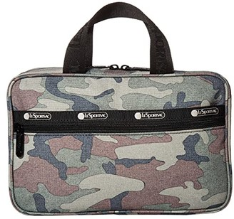 Le Sport Sac Candace Cosmetic Carrier (Camo) Bags