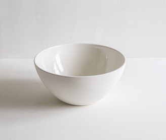 Swedish House At Home - White Porcelain Mixing/Serving Bowl - White