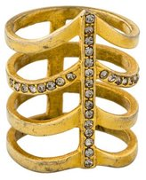Paige Novick 4 Row Pointed Cocktail Ring