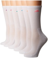 adidas Athletic 6-Pack Crew Socks Women's Crew Cut Socks Shoes