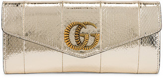 Gucci Broadway Evening Clutch in Platino | FWRD