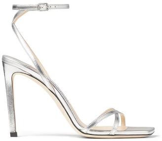 Jimmy Choo Metz 100 Metallic Sandals
