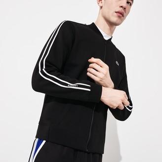 Lacoste Men's SPORT Fleece Varsity Jacket