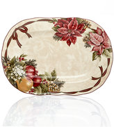 "222 Fifth Yuletide Celebration Collection 14"" Oval Platter"