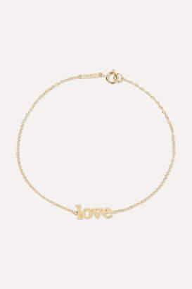 Jennifer Meyer Love 18-karat Gold Bracelet