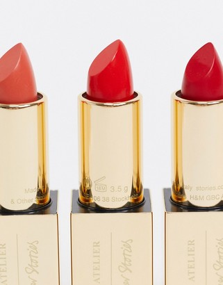 And other stories & lipstick in Ruby Allure