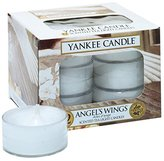 Yankee Candle Angel's Wings Scented Tea Light Candles - Pack of 12