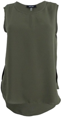 Nine West Women's Light Weight Crepe Cami with Keyhole