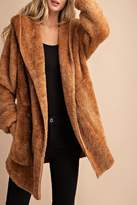 Eesome Oversized Faux-Fur Jacket