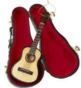 "Kurt Adler 5.52"" Wood Pearlized Guitar Ornament"