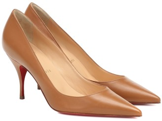 Christian Louboutin Clare 80 leather pumps