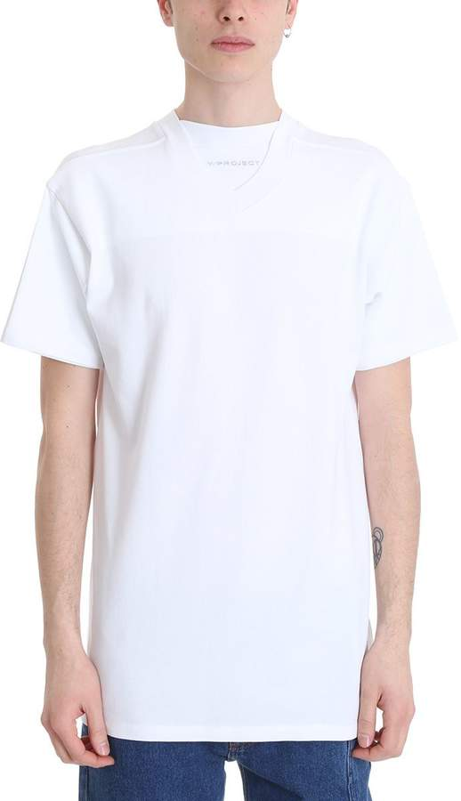 Y/Project White Cotton T-shirt