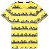 Paul Smith Ryder Bicycle Print T-Shirt