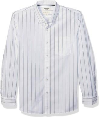 Goodthreads Men's Standard-Fit Long-Sleeve Stretch Poplin (All Hours)