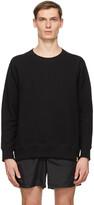 Thumbnail for your product : Bather Black Crewneck Sweatshirt