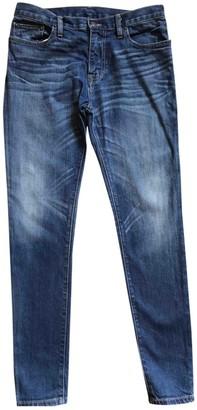 6397 Blue Cotton - elasthane Jeans for Women