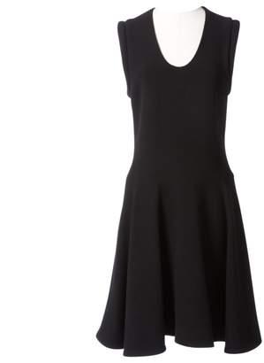 Bouchra Jarrar Black Wool Dress for Women