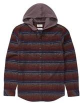 Billabong Boy's Baja Hooded Flannel Shirt