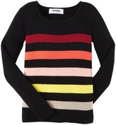 Sonia Rykiel Enfant Ribbed Sweater (Toddler/Kid) - Multicolor-4