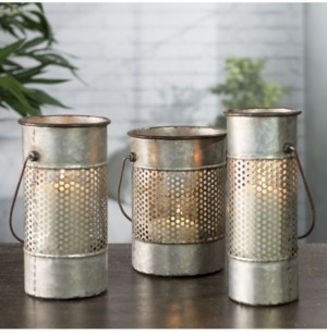 VIP Home & Garden 3-Piece Metal Canisters