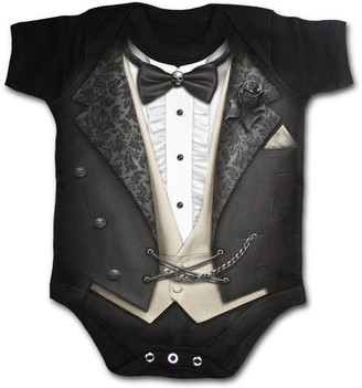 Spiral Direct Spiral - Tuxed Baby Sleepsuit