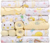 Peak-Peak 18pcs Newborn Baby Clothes Girls Boys Clothing Set Cute infant Outfits Suit