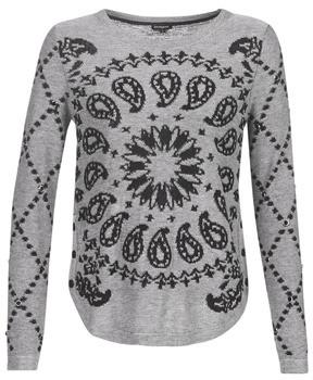Desigual AUSTIN women's Sweater in Grey