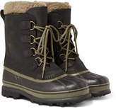 Sorel Caribou Wl Wool-Lined Waterproof Leather Snow Boots