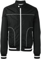Dolce & Gabbana contrast stitch trim jacket - men - Polyamide - 52