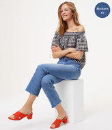 LOFT Modern Vintage Straight Jeans in Vivid Light Indigo Wash