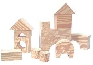 Edushape Wood-Like Soft Blocks
