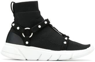 KENDALL + KYLIE Cage high top sneakers