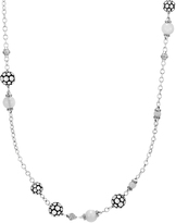 John Hardy Station Necklace with Moonstone