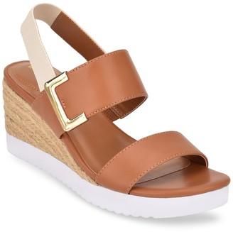 Bandolino Zuni Slingback Wedge Sandal