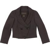 Louis Vuitton Brown Wool Jacket