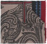 Etro floral print scarf - men - Cashmere - One Size