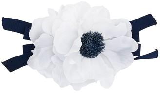 Piccola Ludo Two-Tone Flower Brooch