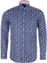 Eden Park Men's Floral Print Shirt With Chest Pocket