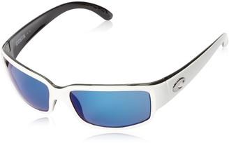 Costa del Mar Unisex-Adult Cabalitto CL 30 OBMP Polarized Iridium Wrap Sunglasses
