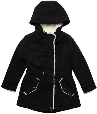 Urban Republic Fleece Ruffle Jacket (Toddler Girls)