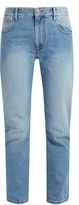 Etoile Isabel Marant Cliff high-rise straight-leg jeans