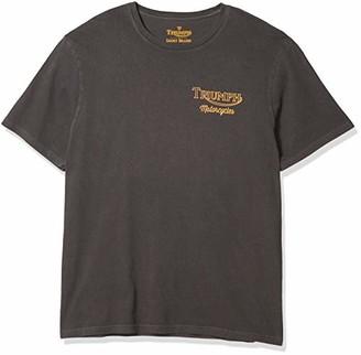 Lucky Brand Men's Short Sleeve Crew Neck Triumph Worlds Fastest Tiger Tee