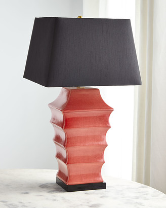 REGINA ANDREW Pagoda Ceramic Table Lamp