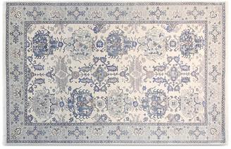 "F.J. Kashanian 5'6""x8'6"" Mansur Hand-Knotted Rug - Ivory/Blue"