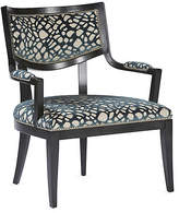 Massoud Furniture DuPont Accent Chair - Aqua