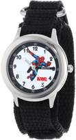 Spiderman Marvel Comics Kids' W000115 Stainless Steel Time Teacher Watch