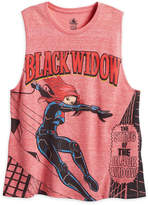 Disney Black Widow Tank Tee for Women